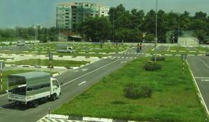Sân đào tạo lái xe tải hạng C