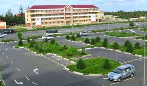 Sân thực hành lái xe Trung tâm Tiến Thành