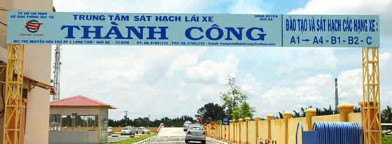 Trung tâm dạy lái xe Thành Công