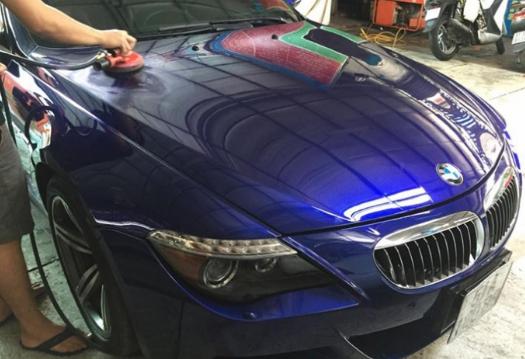 Quy định xử phạt thay đổi màu sơn của xe và thủ tục đổi màu sơn xe