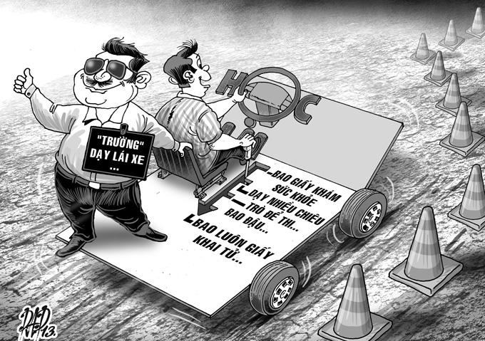 Thực trạng đào tạo lái xe B2 náo loạn và những hậu quả khôn lường