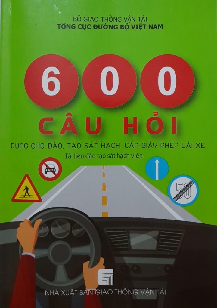 Bo de 600 cau hoc ly thuyet lai xe