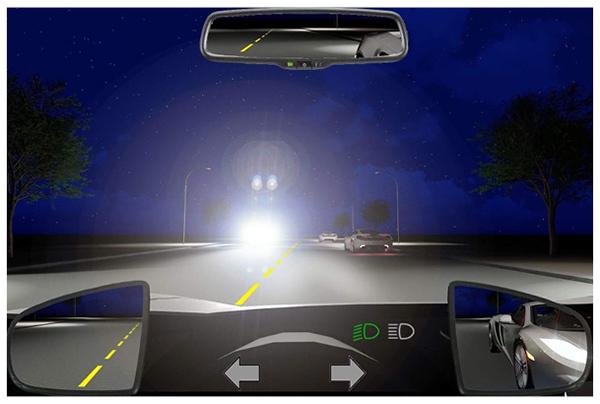Câu 595: Khi gặp xe ngược chiều bật đèn pha trong tình huống dưới đây, bạn xử lý như thế nào?