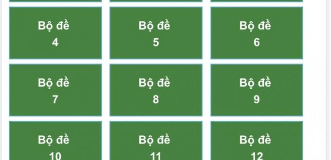 18 Bộ Đề Thi Lý Thuyết Lái Xe Hạng B2 Theo Bộ 600 Câu Hỏi